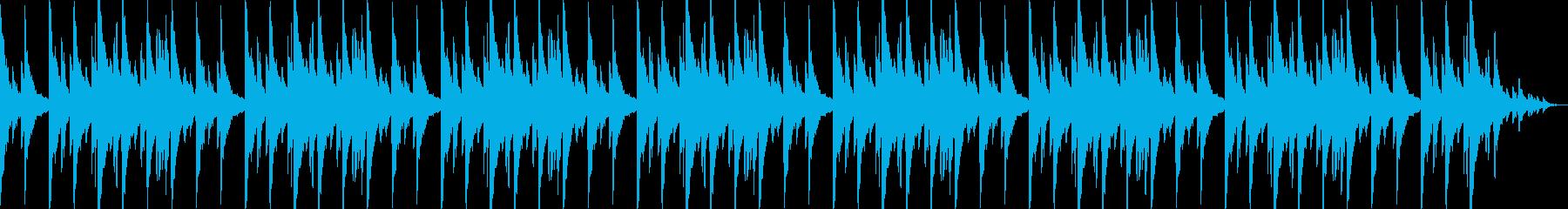 ピアノがメインの癒し系ヒーリングサウンドの再生済みの波形