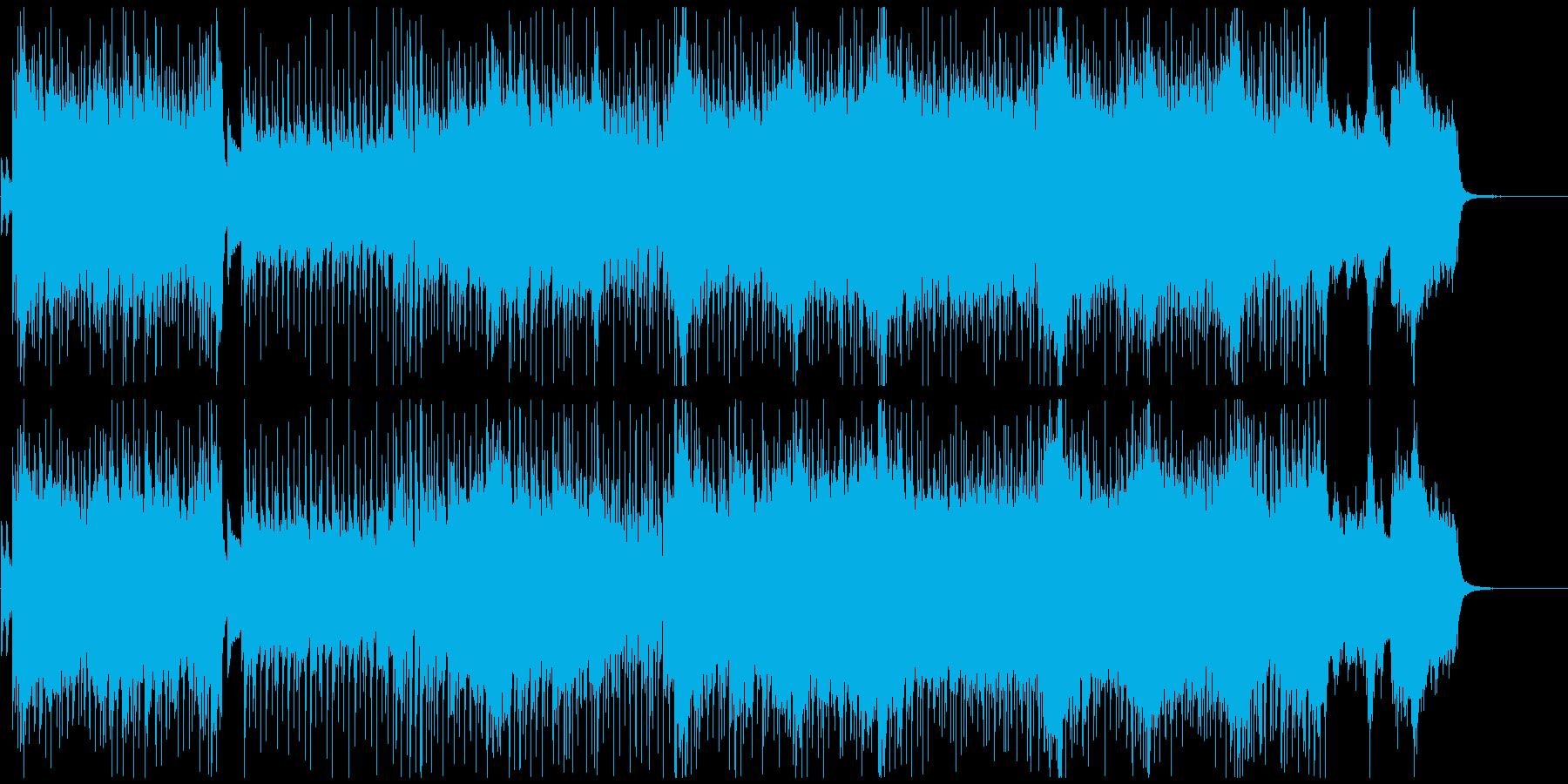 疾走感のあるバンド+オーケストラのポップの再生済みの波形