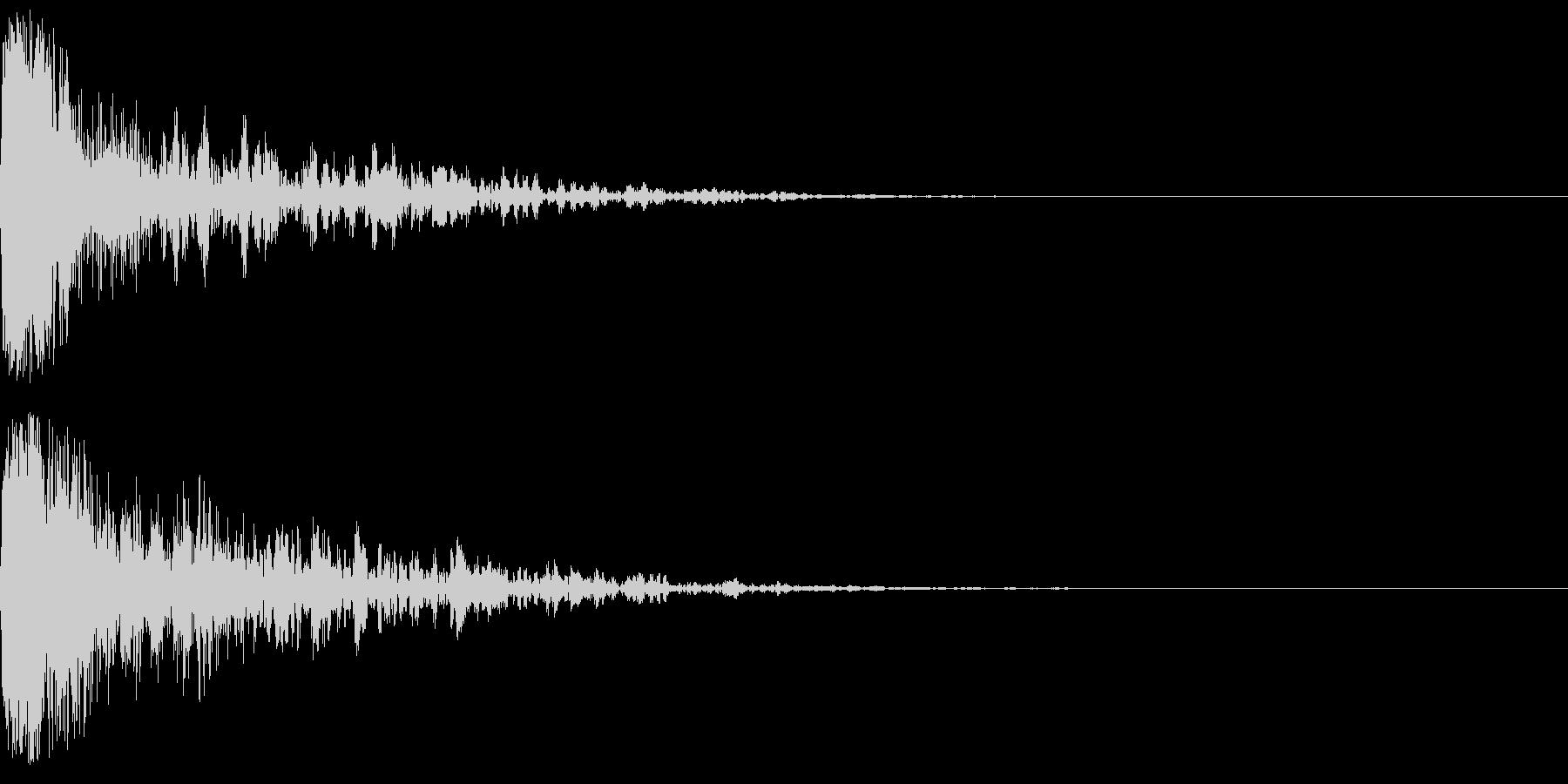 ドーン-56-1(インパクト音)の未再生の波形