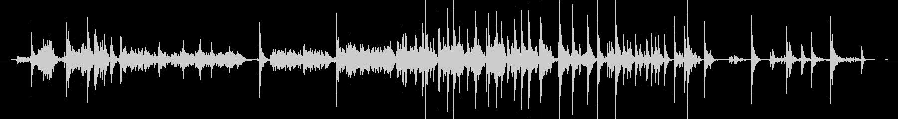メタル クリークストレスミディアム05の未再生の波形