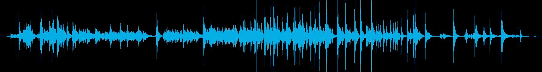 メタル クリークストレスミディアム05の再生済みの波形
