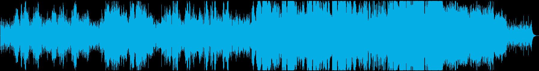 焔の再生済みの波形