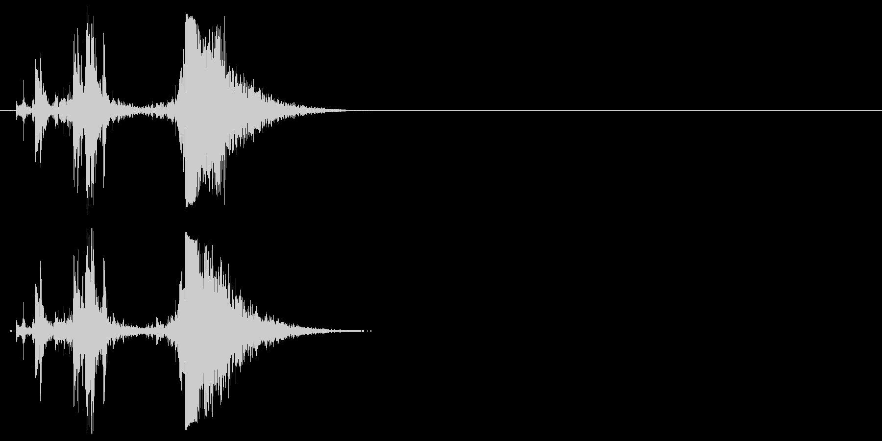 グロックモデル17、半自動ピストル...の未再生の波形