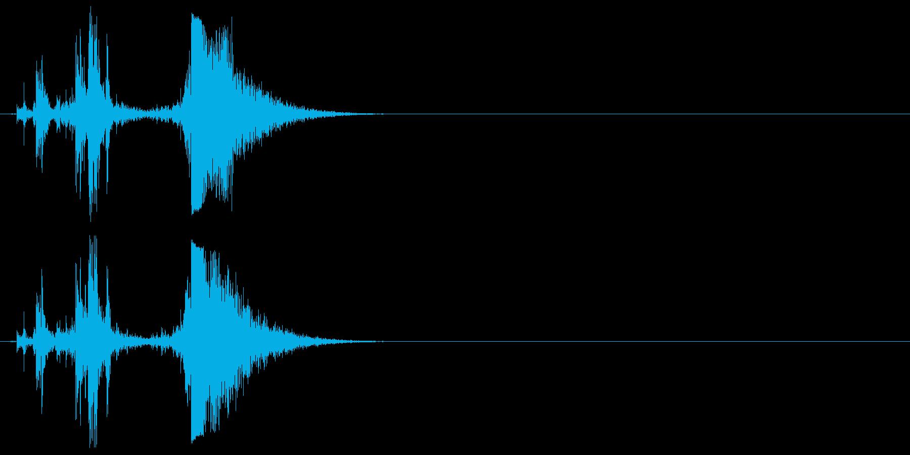 グロックモデル17、半自動ピストル...の再生済みの波形