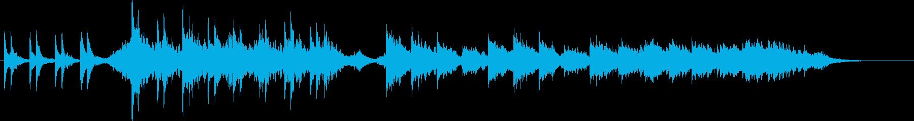 恐怖のドアノック ver.2の再生済みの波形