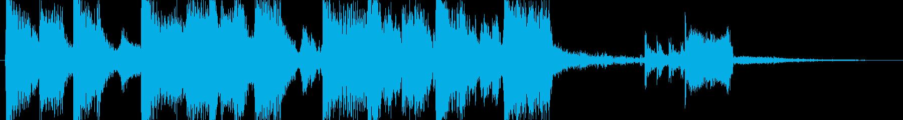ビルドアップ・EDM・クール・盛り上がるの再生済みの波形