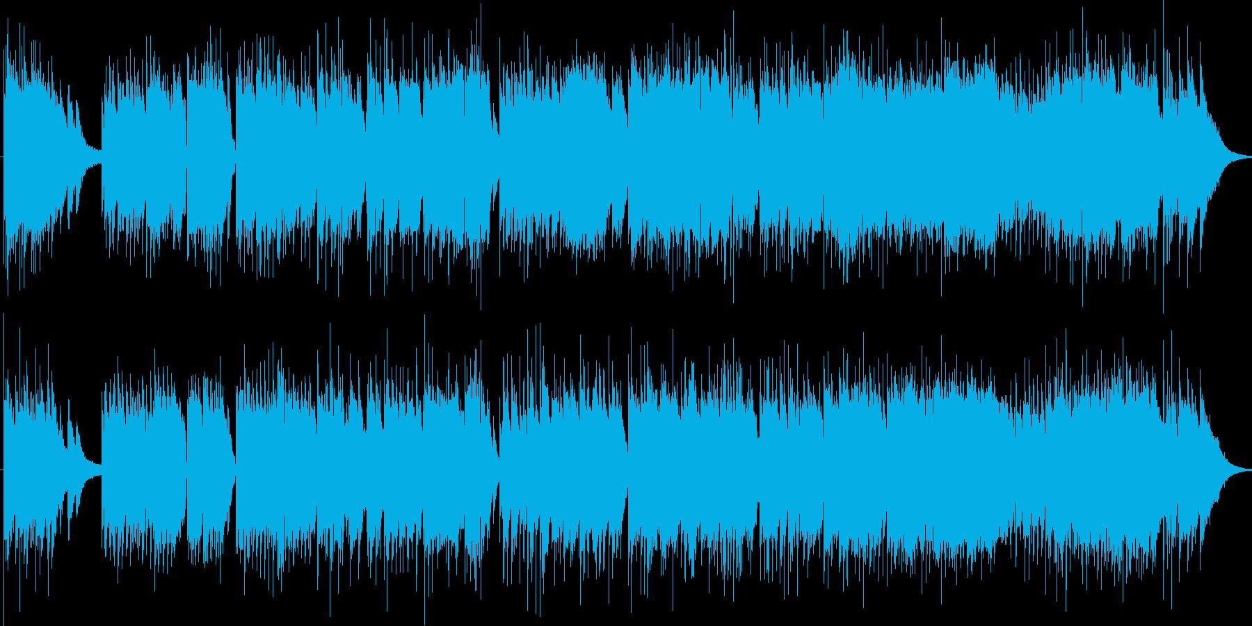 どこか懐かしい哀愁のあるピアノ曲ですの再生済みの波形