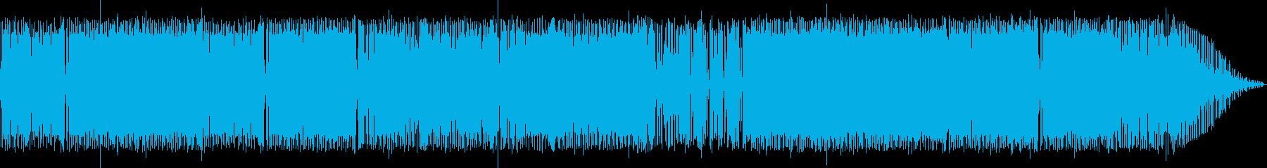 渋いエレキがかっこいいアダルトなロックの再生済みの波形