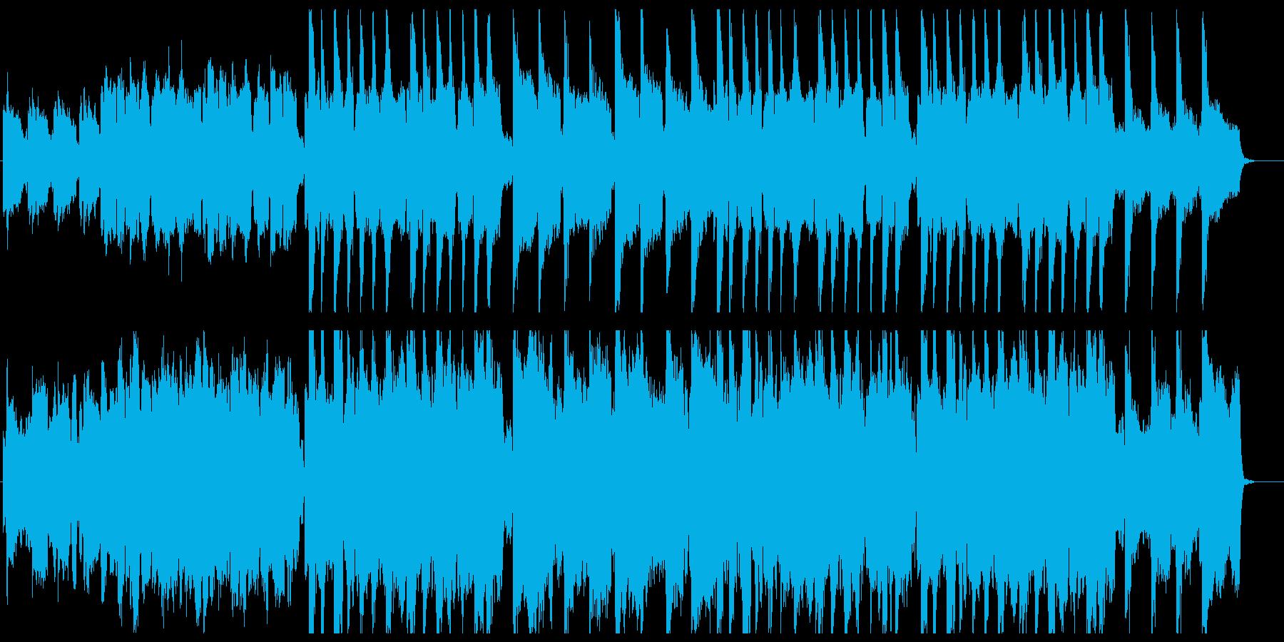 哀愁のケルト民謡風の再生済みの波形