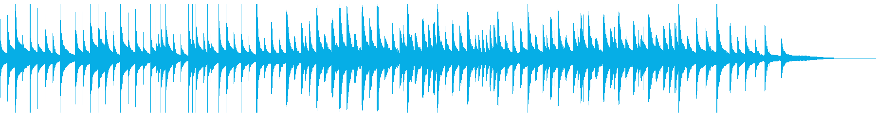 Bad Music Box Reminiscence Game Over's reproduced waveform