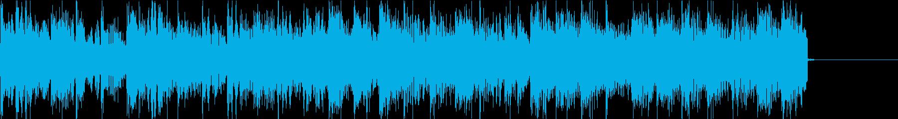 気分が上がる電子音が印象的なアイキャッチの再生済みの波形