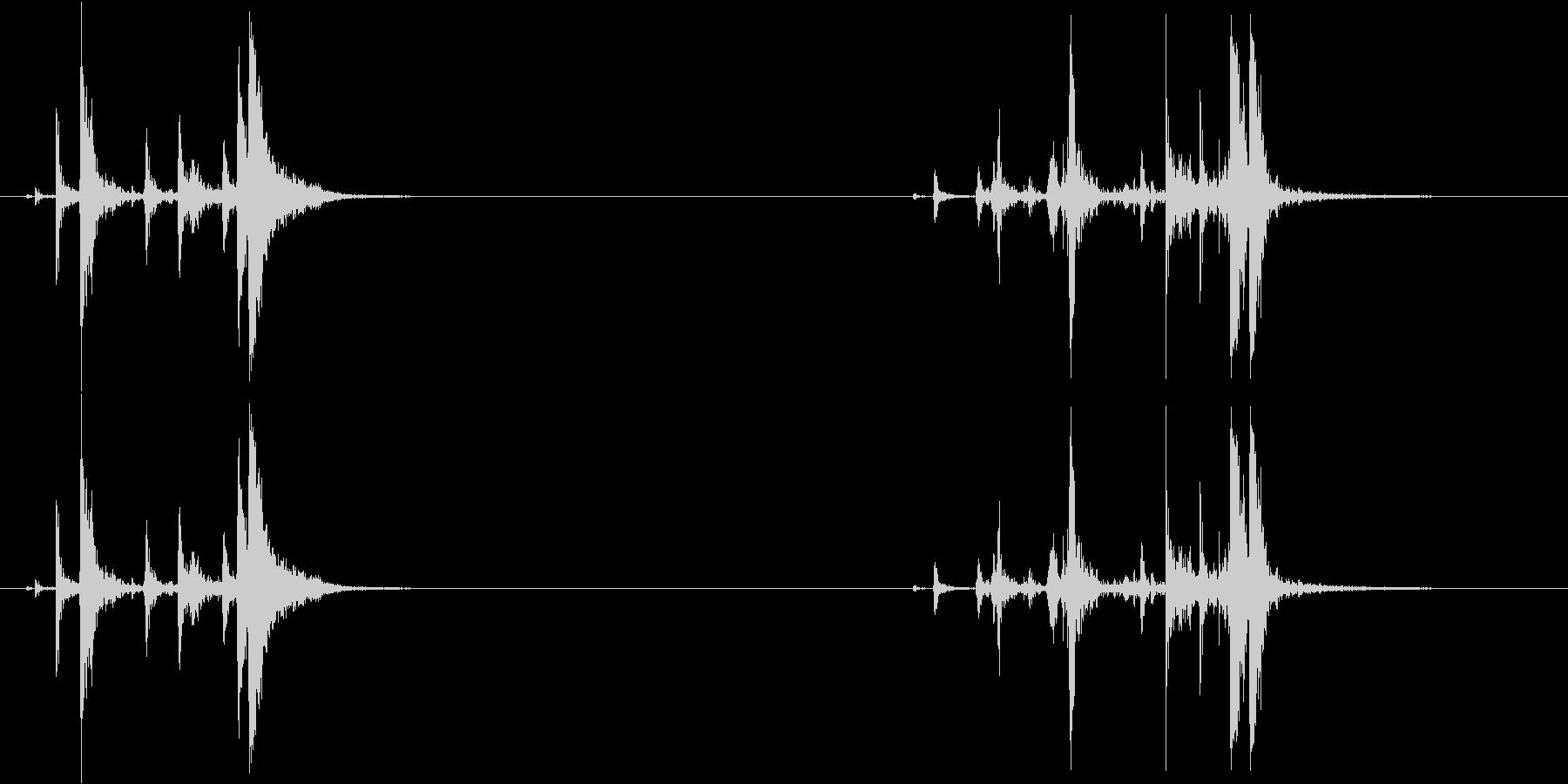 レミントン870:コックチャンバー...の未再生の波形