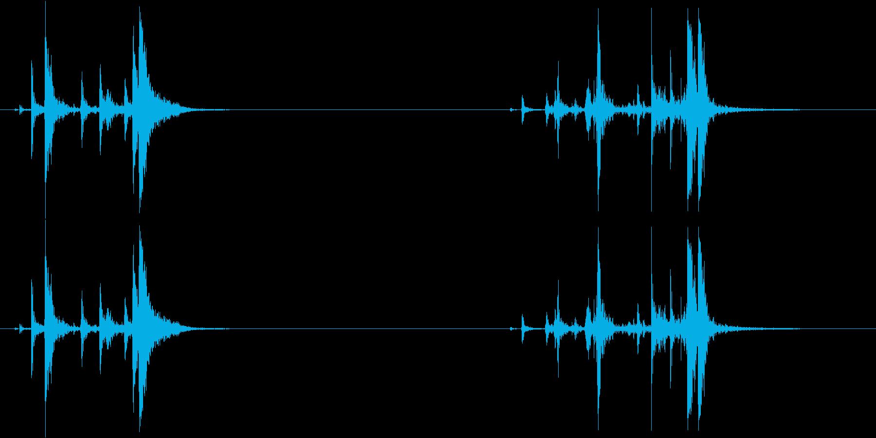 レミントン870:コックチャンバー...の再生済みの波形