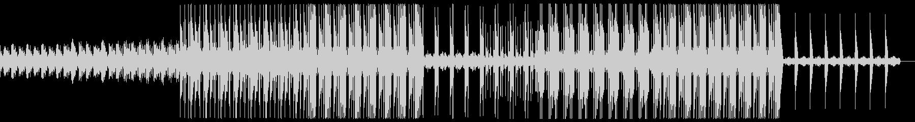 ダーク 不気味 トラップ ビートの未再生の波形