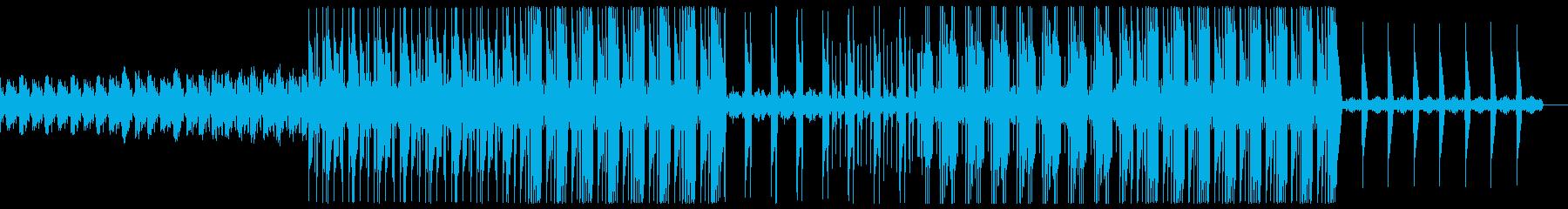 ダーク 不気味 トラップ ビートの再生済みの波形
