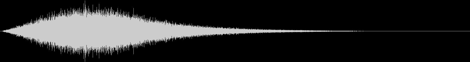 シューッという音EC07_90_2の未再生の波形