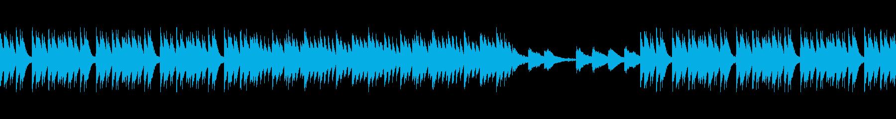 ループ・リズム抜 アングラなHIPHOPの再生済みの波形
