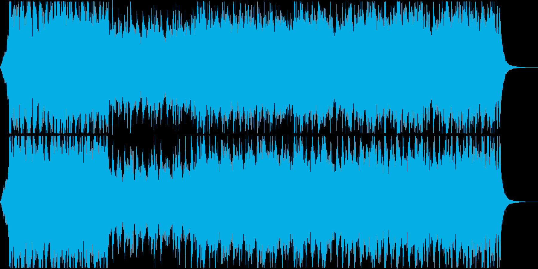 壮大なRPG風BGMの再生済みの波形