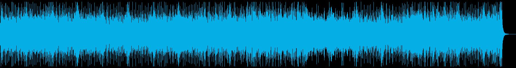 和楽器・和風・サムライロック:三味線ぬきの再生済みの波形