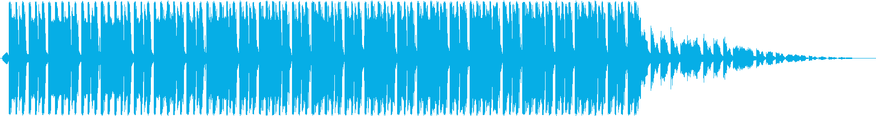 ピアノとファッションダンストラック。の再生済みの波形