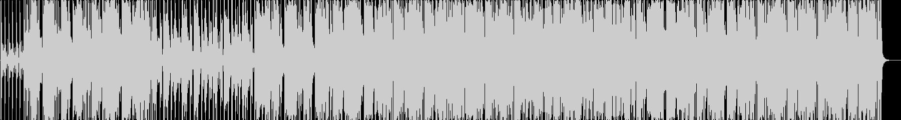パワフル、ポップ、ファンクの未再生の波形