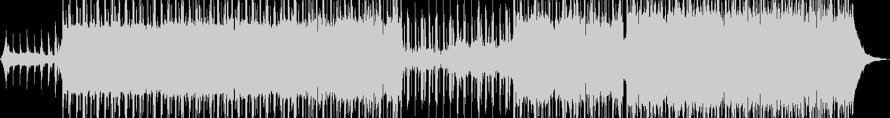 無機質でドライ・ダークなR&B Aの未再生の波形