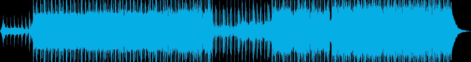 無機質でドライ・ダークなR&B Aの再生済みの波形