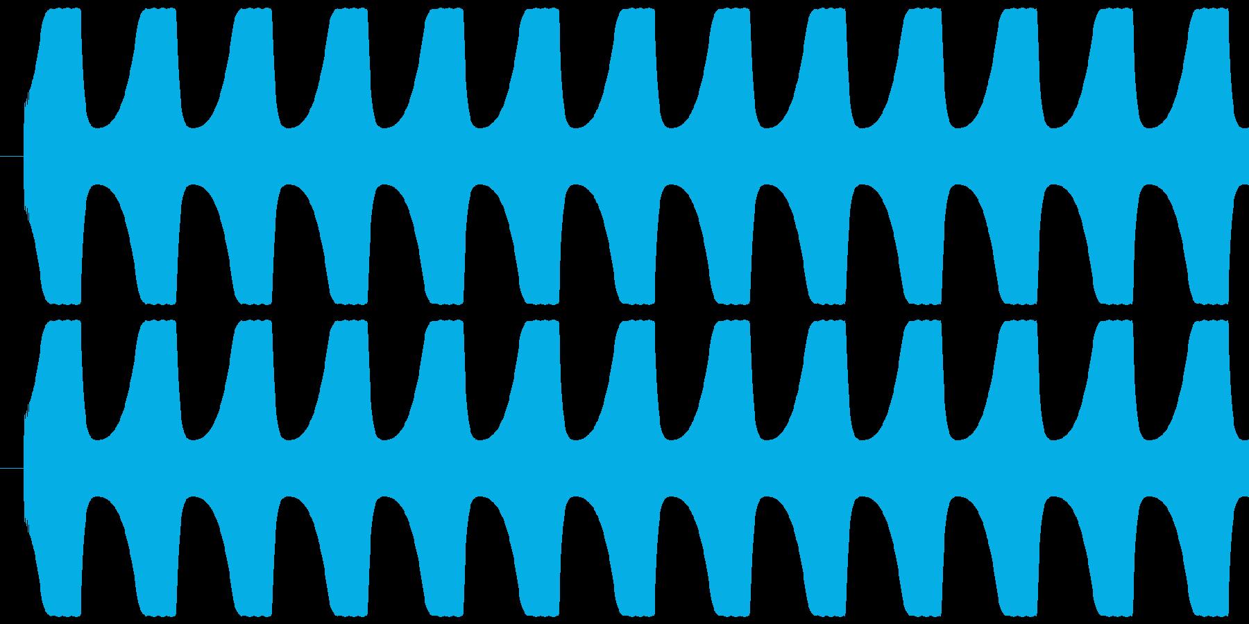 ゲームテキスト効果音A-7(高め 普通)の再生済みの波形