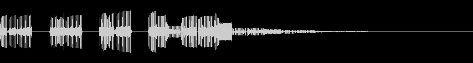 タララッタラララララ(場面転換・切り替)の未再生の波形