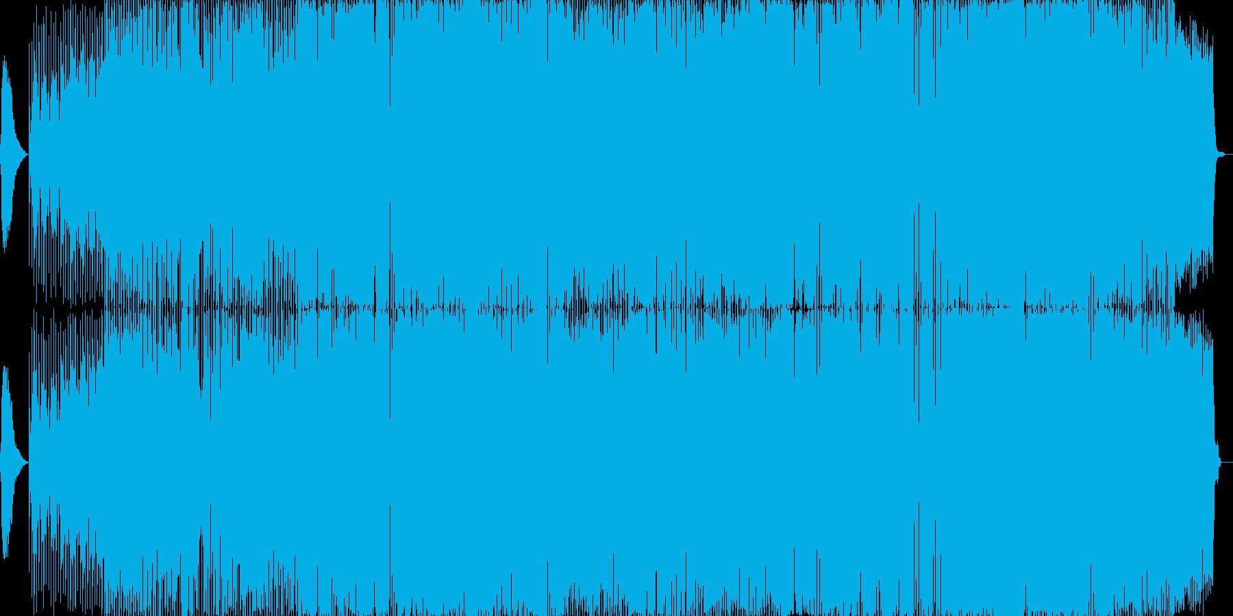 静かでゆったりとしたロックバラード曲。の再生済みの波形
