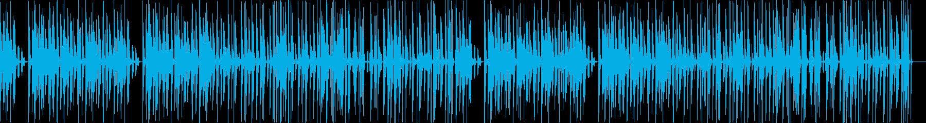 コメディ,お間抜けシーン おもちゃ楽器の再生済みの波形