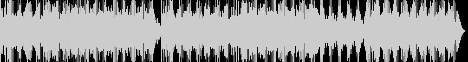 明るくポップなフォークサウンドの未再生の波形