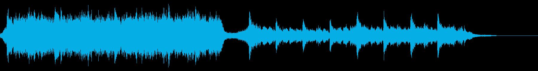 ハリウッド映画風の壮大なオーケストラ6Bの再生済みの波形