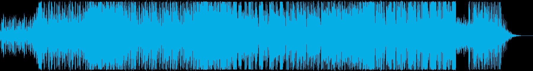 アバンギャルドなEDMの再生済みの波形