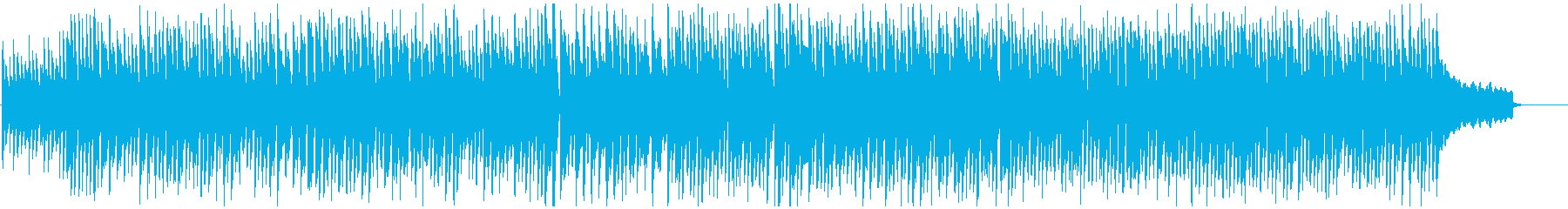 わくわく元気なリコーダー曲、カートゥーンの再生済みの波形