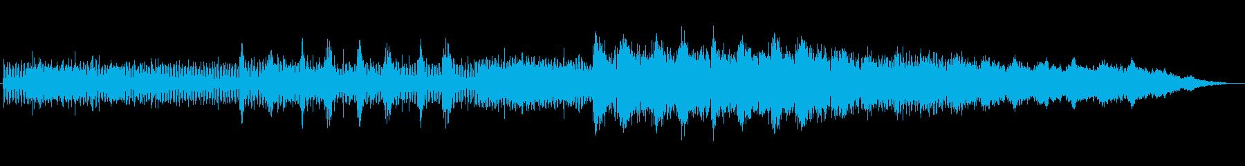 透明感と神秘的なシンセサウンドの再生済みの波形