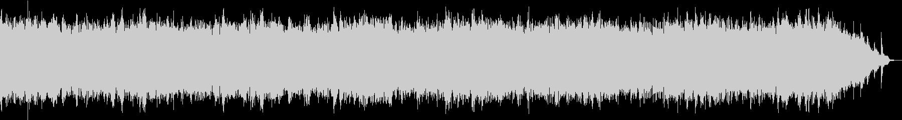 良く眠れる528Hzの音楽の未再生の波形