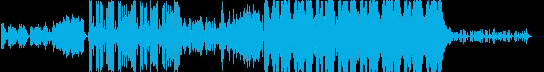 宇宙空間をイメージしたFuturePopの再生済みの波形