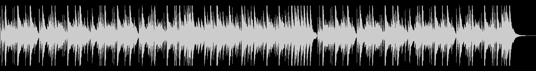 しんみりと優しく切ないピアノバラードの未再生の波形