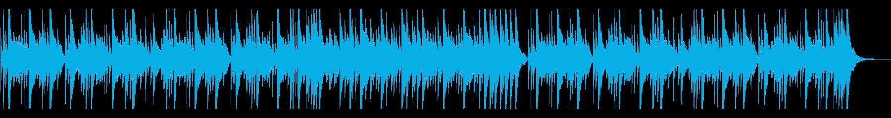 しんみりと優しく切ないピアノバラードの再生済みの波形