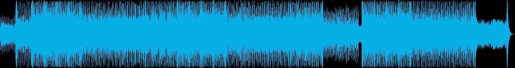 フュージョン アクション エスニッ...の再生済みの波形