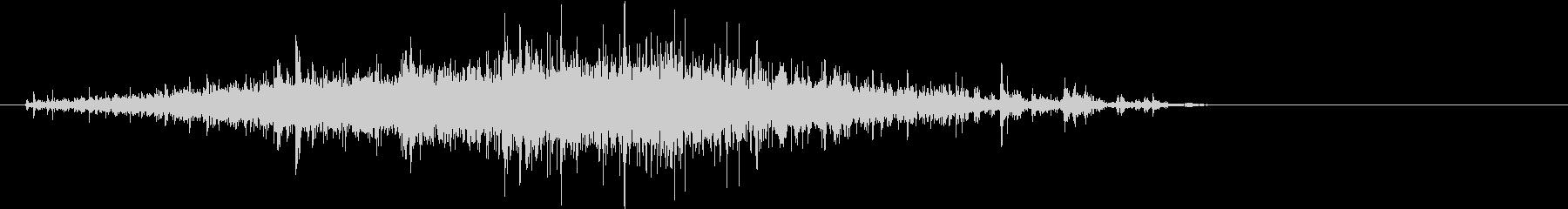 【生録音】米粒(生米)を取り出す音 1の未再生の波形