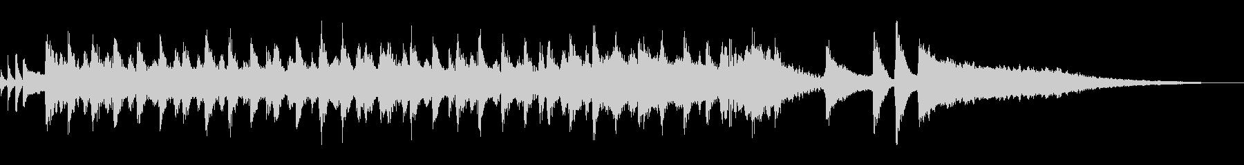 アコースティックバンド明るいBGM短尺の未再生の波形