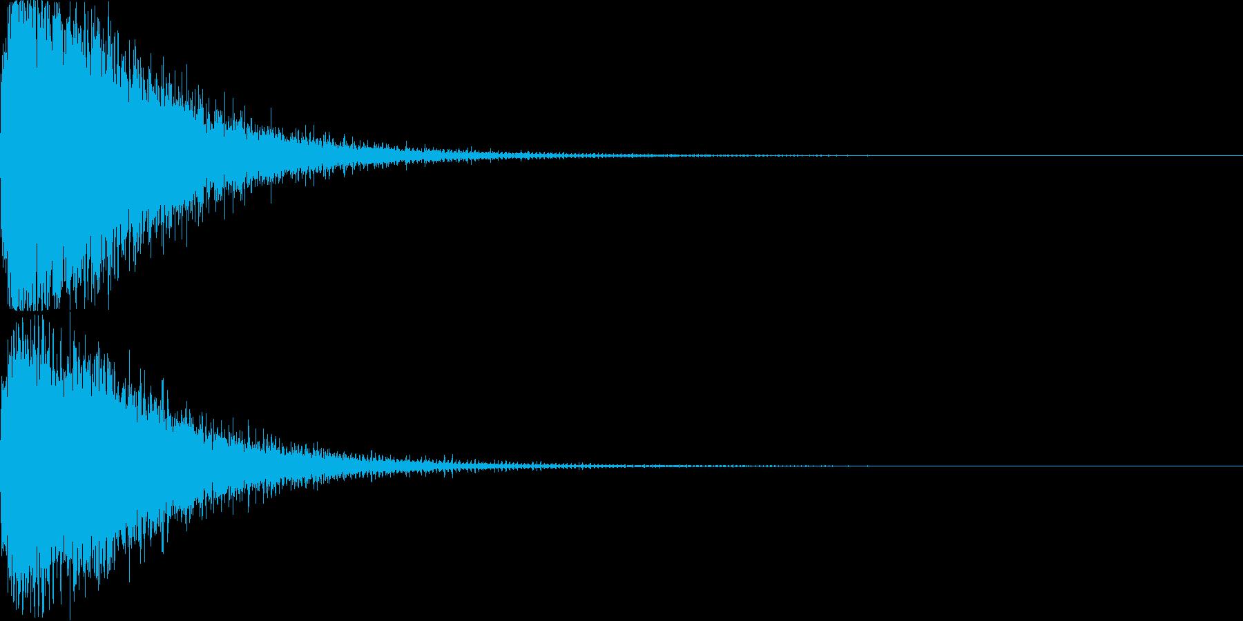 技・必殺技・魔法2の再生済みの波形