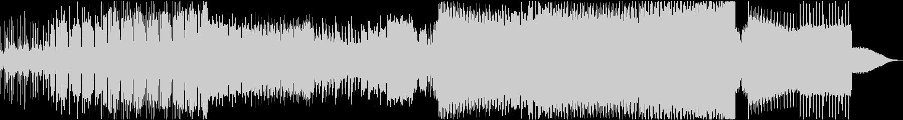 【EDM】アグレッシブ、パワーのある音の未再生の波形