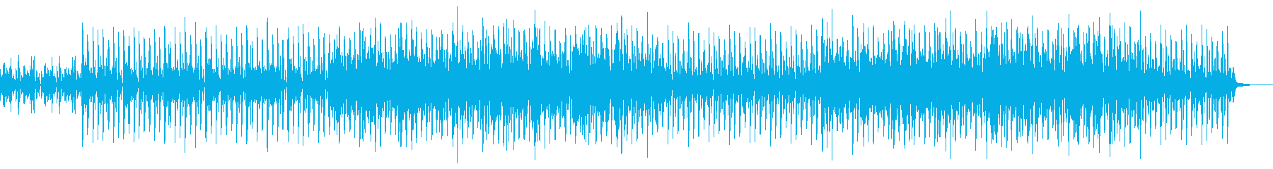 アコースティックなオープニングポップスの再生済みの波形