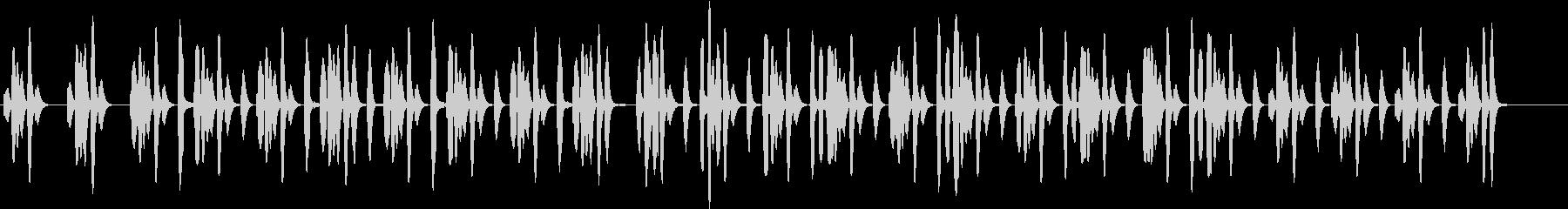 コミカルな場面で使えそうなリコーダーの曲の未再生の波形