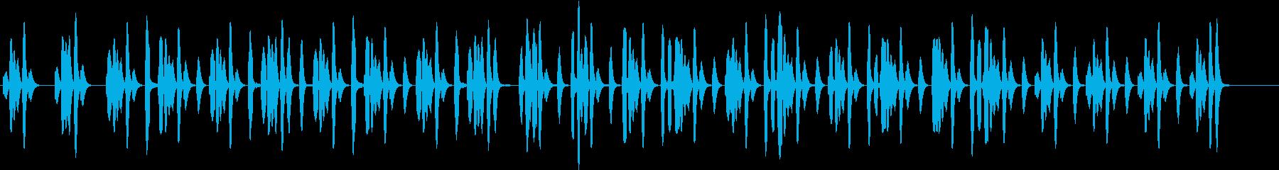 コミカルな場面で使えそうなリコーダーの曲の再生済みの波形