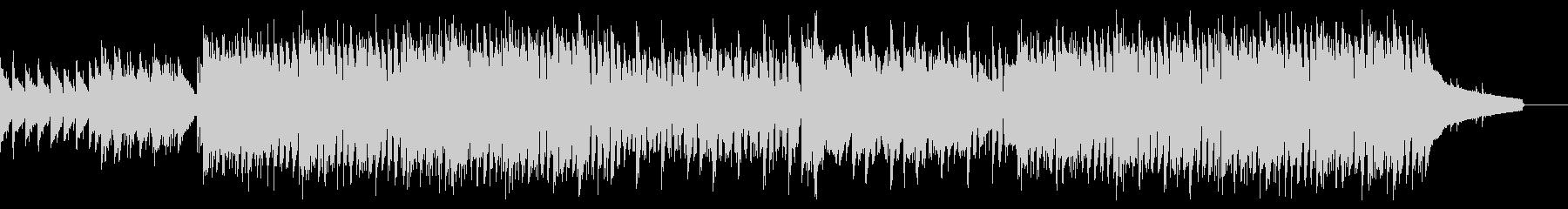 エモいコード進行のアンニュイEDMロックの未再生の波形