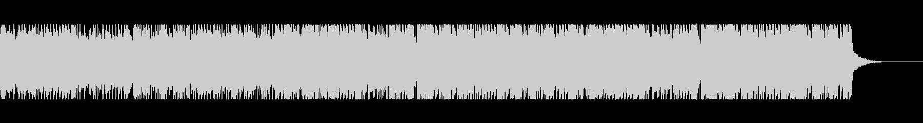 中世の雰囲気を意識したバロック風BGMの未再生の波形